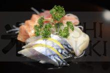 sashimi mix logo website